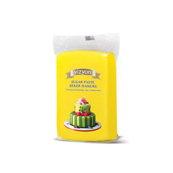 YELLOW VIZYON SUGAR PASTE - 250g