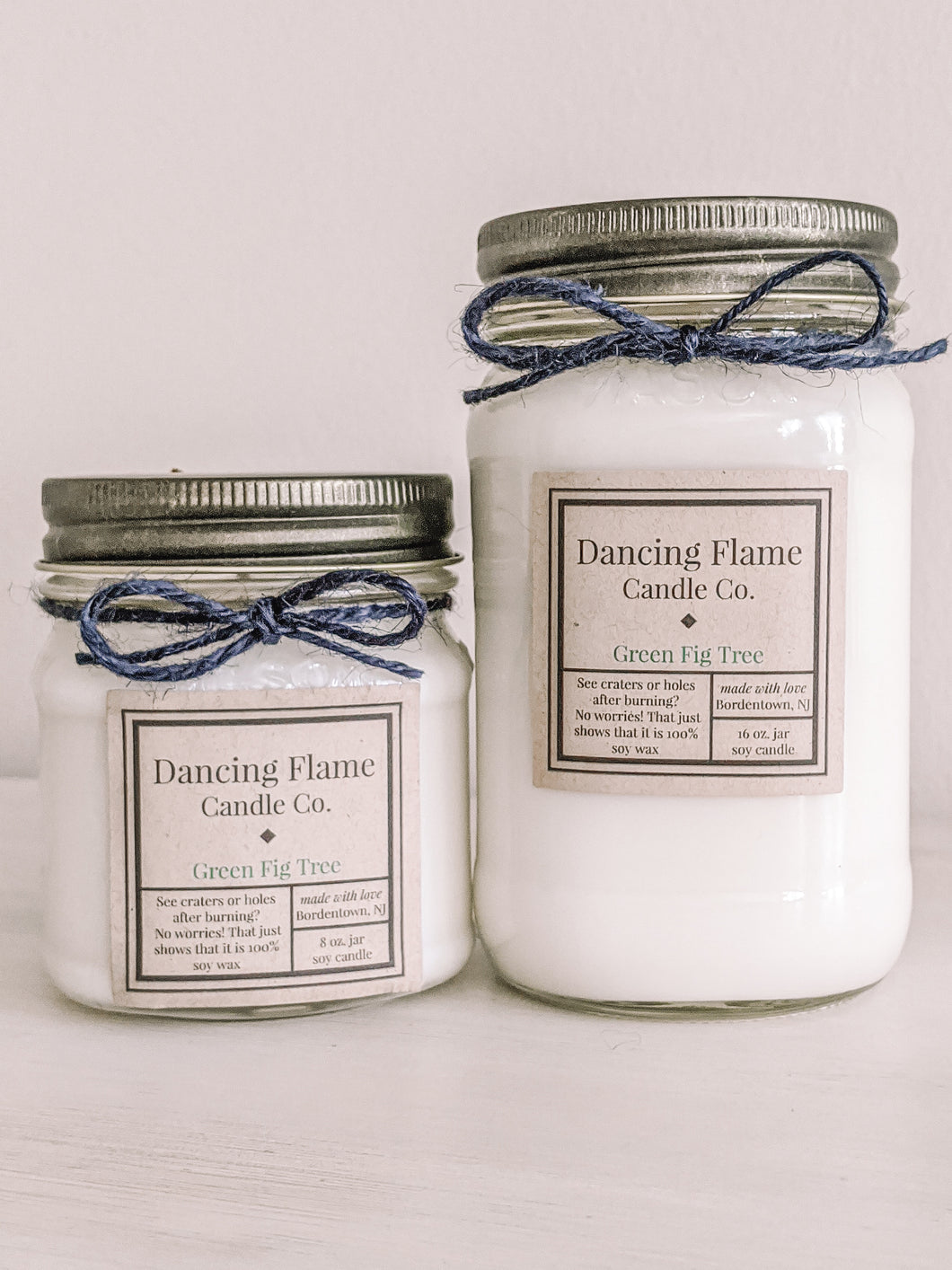 Green Fig Tree Soy Wax Candle