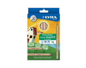 Lyra colour giants - 12 pack with black and white
