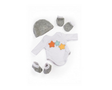 Load image into Gallery viewer, Miniland Clothing Layette Body Suit and Accessories -38cm