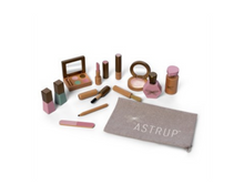 Load image into Gallery viewer, Astrup Wooden Role Play Make Up Set -13 pieces