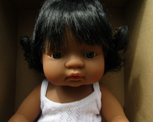 Load image into Gallery viewer, Miniland doll - Latin American girl, 38cm