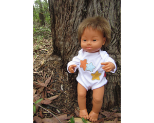 Miniland Clothing Layette Body Suit and Accessories -38cm