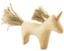 Load image into Gallery viewer, Wooden unicorn - Madelina