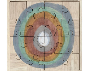 Earth moon puzzle