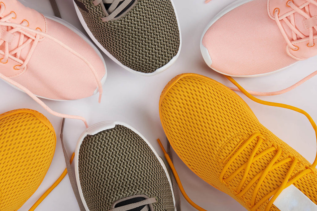different types of athletic shoes