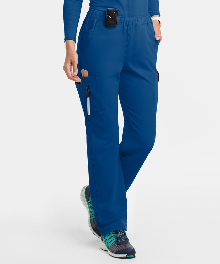Blue scrub pants make a great addition to any nurse practitioner gifts list.