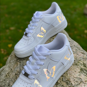 Reflective Butterfly Air Force 1