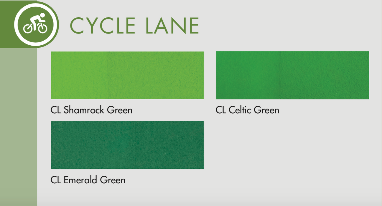 Colorants - Cycle Lane (Part C)