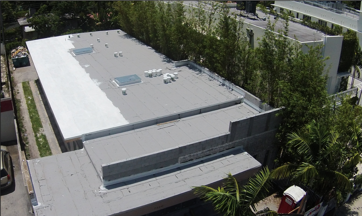 Roof Coat Elastomeric Coating