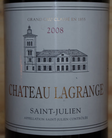 Chateau Lagrange, Saint Julien 2008