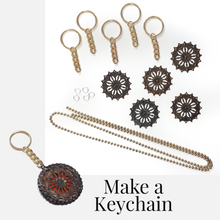 Load image into Gallery viewer, Ball Chain Key Chain Kit - Makes 5