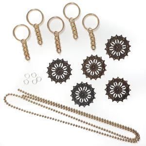 Ball Chain Key Chain Kit - Makes 5
