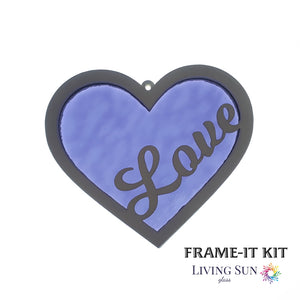 "Heart ""Love"" Frame-It Kit"