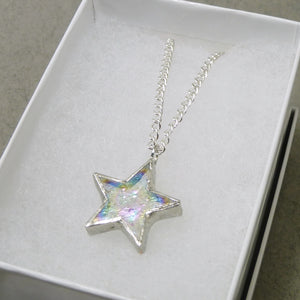 Iridescent Stars - Clear