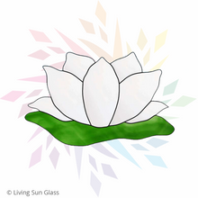Load image into Gallery viewer, Lotus Flower Suncatcher