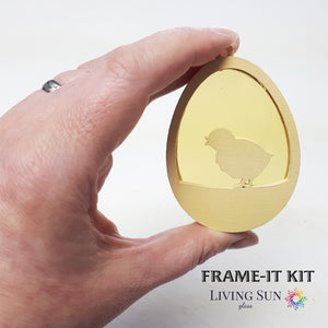 Bunny Easter Egg Frame-It Kit