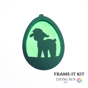Little lamb Easter Egg Frame-It Kit