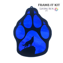 Load image into Gallery viewer, Wolf Paw Print Frame-It Kit