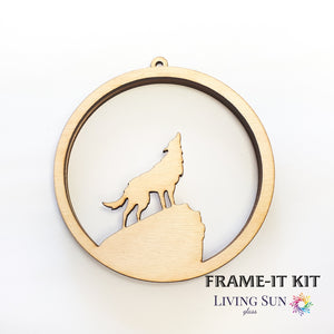 Wolf - Round Frame-It Kit