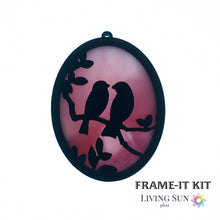 Load image into Gallery viewer, Birds Oval Frame-It Kit