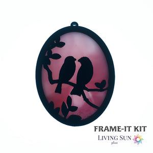 Birds Oval Frame-It Kit