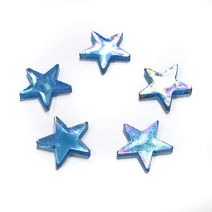Iridescent Stars - Blue
