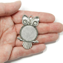Load image into Gallery viewer, Owl Pendant Setting