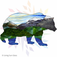 Load image into Gallery viewer, Grizzly Bear Silhouette