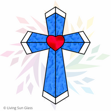 Load image into Gallery viewer, Cross with Heart