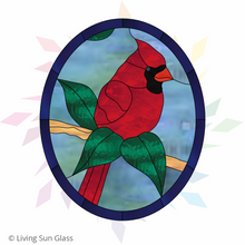 Load image into Gallery viewer, Cardinal With Leaves