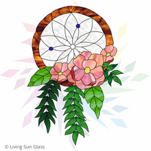 Load image into Gallery viewer, Dreamcatcher Pattern - Floral
