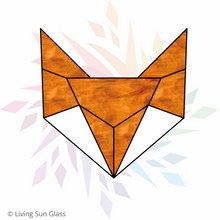 Load image into Gallery viewer, Geometric Fox Pattern