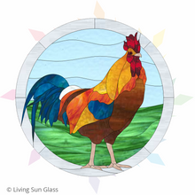 Load image into Gallery viewer, Rooster Pattern