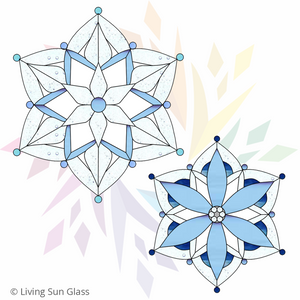 Snowflake Suncatchers - Large