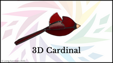 Load image into Gallery viewer, 3D Cardinal Online Workshop