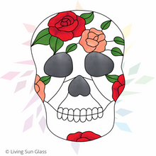 Load image into Gallery viewer, Sugar Skull Pattern