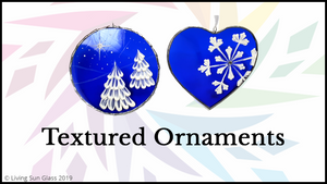 Textured Ornaments Online Workshop