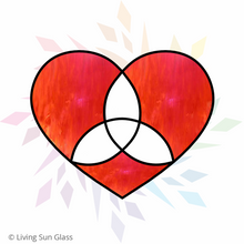Load image into Gallery viewer, Heart with Trinity Knot