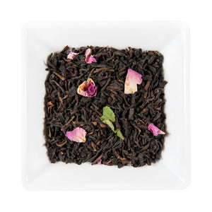 Earl Grey Special Reserve, Black Tea flavored with Bergamot Oil and Rose Petals, Miami.Coffee