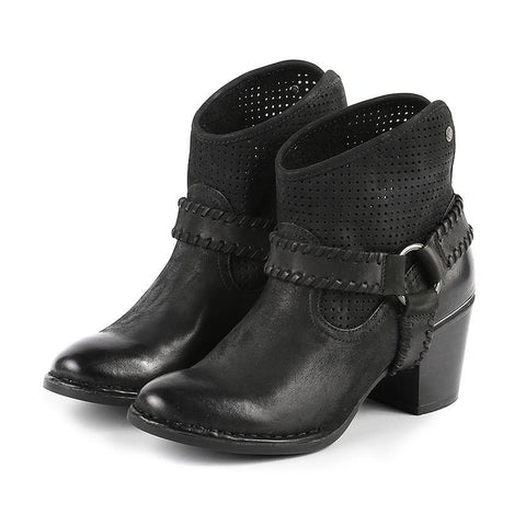 【Woodville Ankle Boots】百變女郎 個性短靴_Black