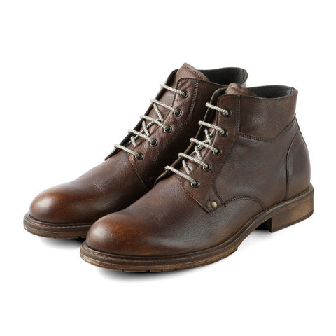 【Bolzano Lace-Up Boots】義大利製 時尚紳士短靴_Brandy