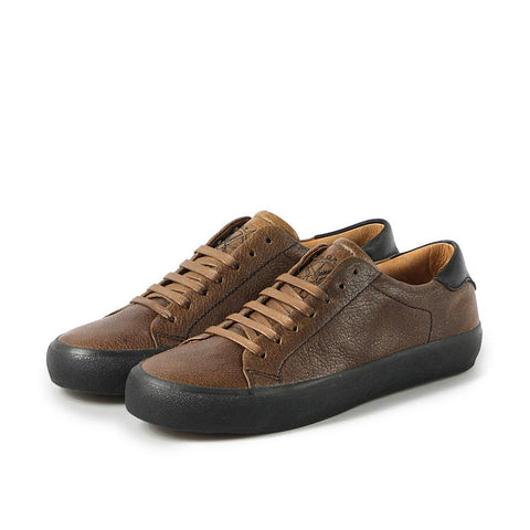 【Cardiff Lace-Up Sneakers】牛皮繫帶休閒鞋_Taupe