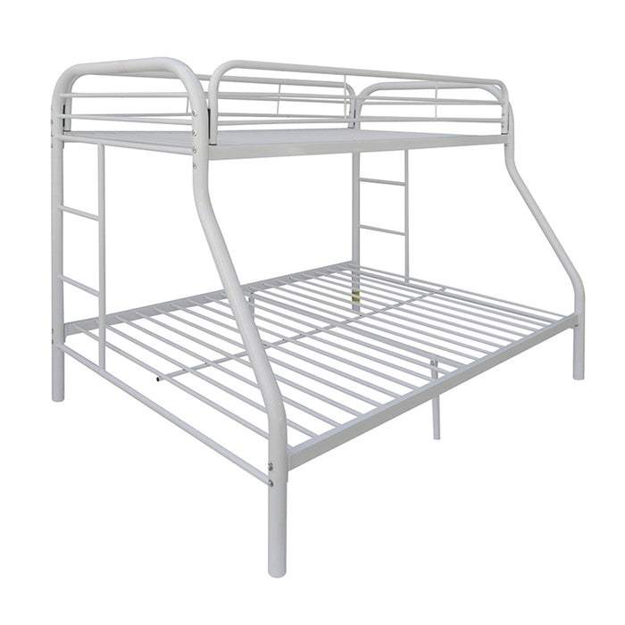Tritan White Bunk Bed (Twin XL/Queen)