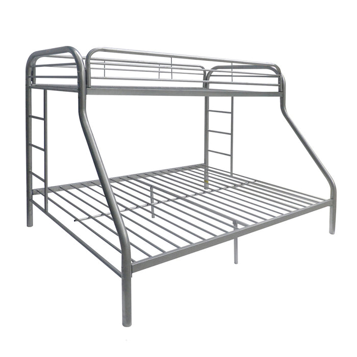 Tritan Silver Bunk Bed (Twin/Full)