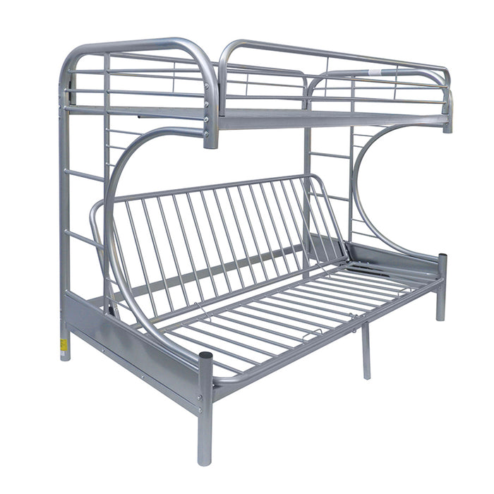 Eclipse Silver Bunk Bed (Twin/Full/Futon)