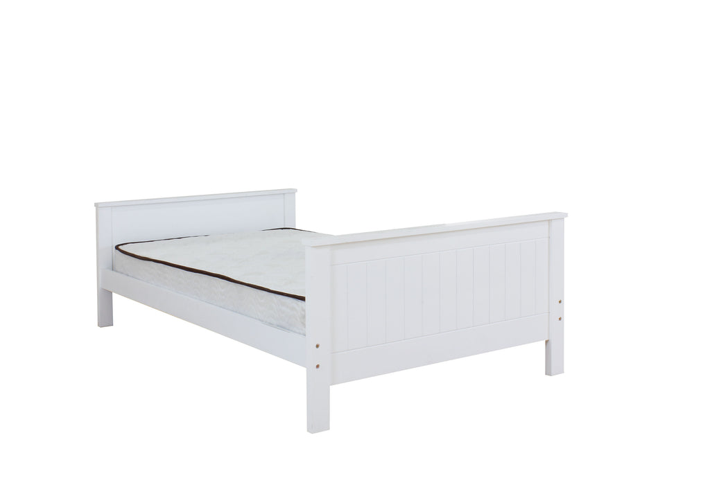 Willoughby White Twin Bed