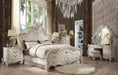 Versailles Bone White California King Bed image