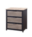 Baara Natural & Sandy Gray Nightstand image