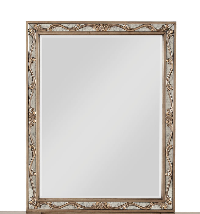 Orianne Antique Gold Vanity Mirror image